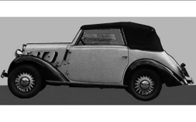 Fiat – 508 Balilla Cabriolet Viotti