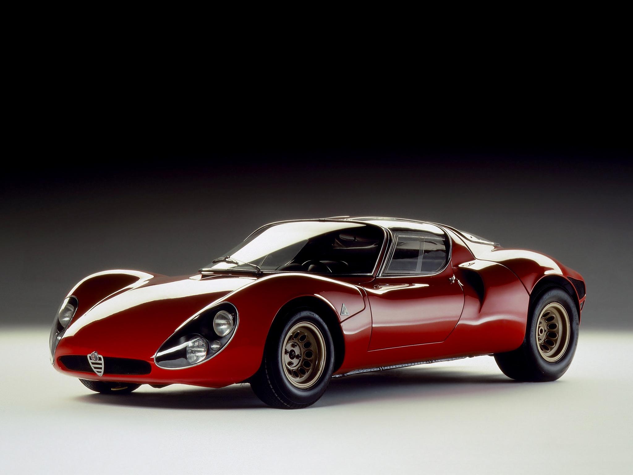 Alfa Romeo – 33 Stradale