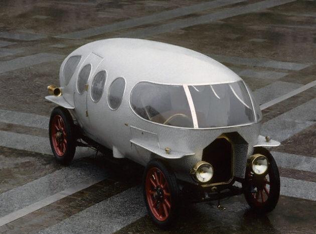 "Alfa – 40-60 HP Aerodinamica ""Siluro Ricotti"" full"