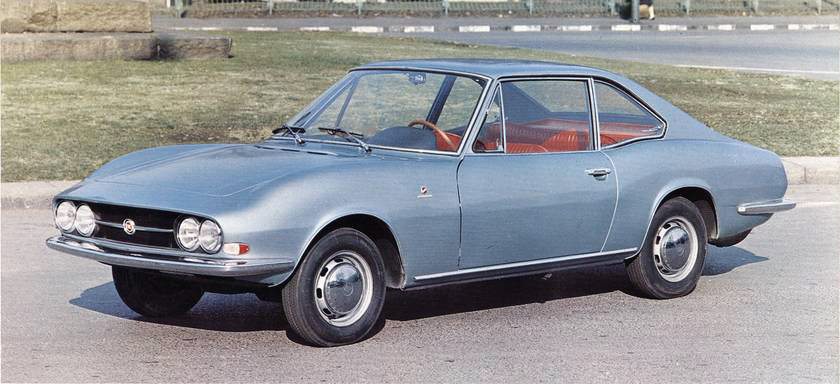 Fiat – 124 Berlinetta Moretti