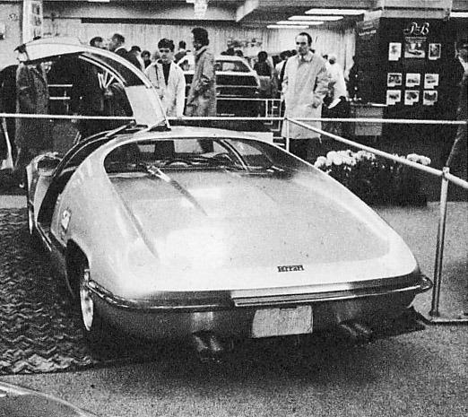 Ferrari – 275 P2 Michelotti Coupè full