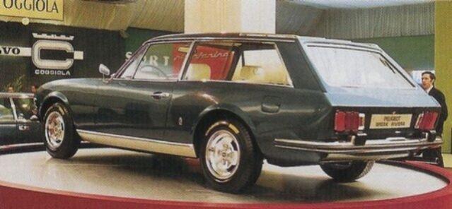 Peugeot – 504 Brake Riviera full