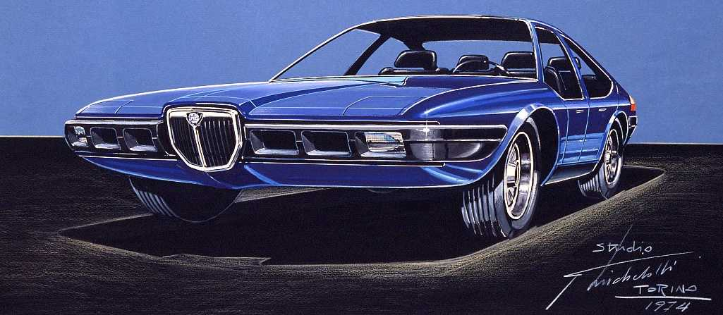 1974_Michelotti _Lancia_Beta_Mizar_design-sketch_01