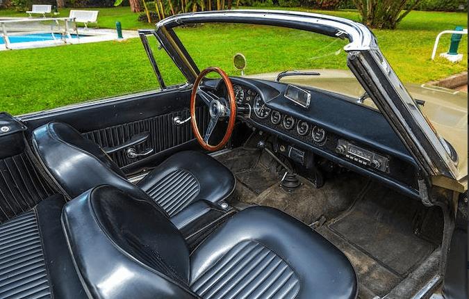 1964 OSCA 1600 GT Spider Maina Cabriolet(10)