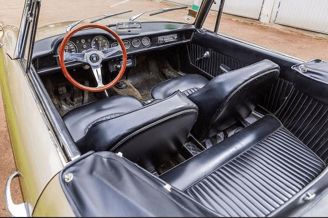 1964 OSCA 1600 GT Spider Maina Cabriolet(11)