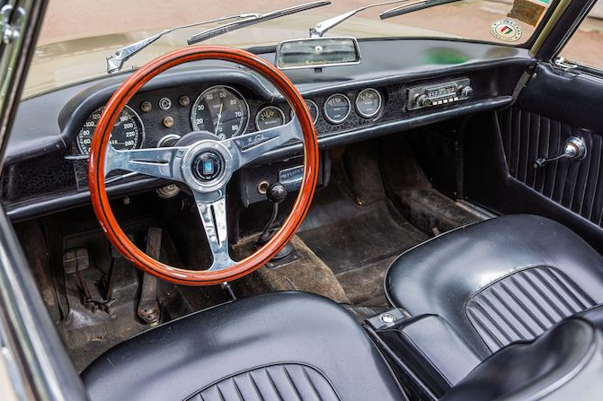 1964 OSCA 1600 GT Spider Maina Cabriolet(12)