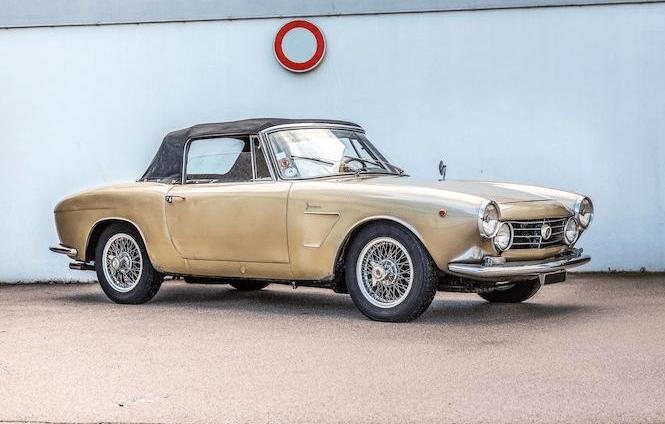 1964 OSCA 1600 GT Spider Maina Cabriolet(6)