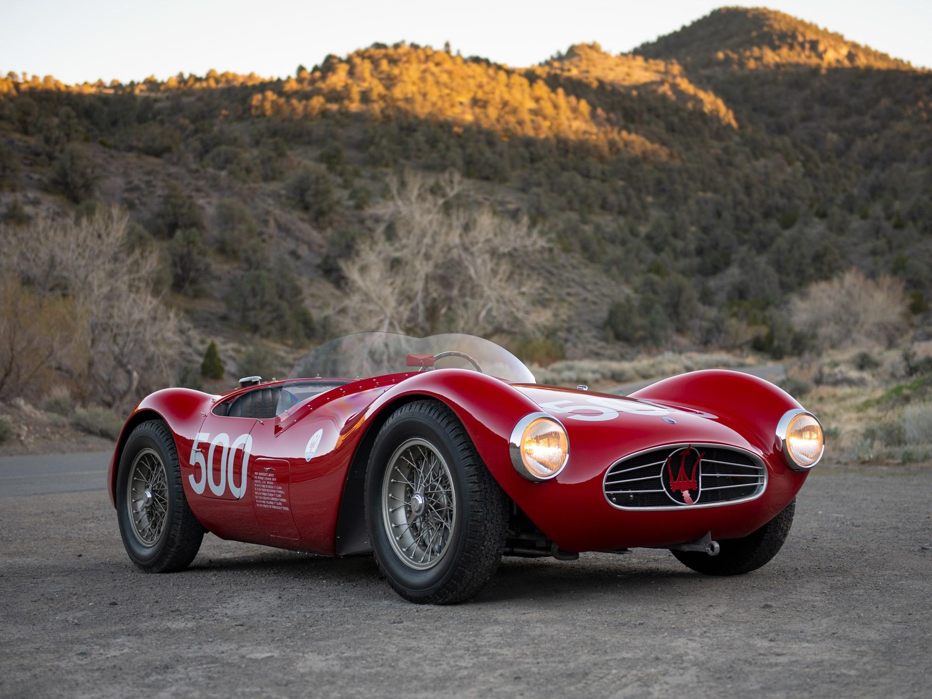 Maserati – A6GCS 54 Fiandri & Malago