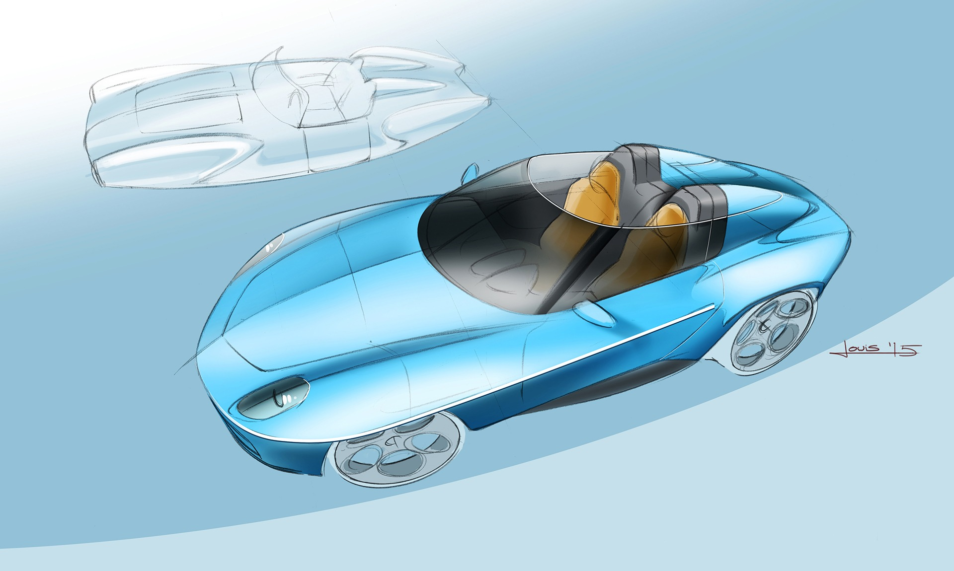 2016-Touring-Superleggera-Alfa-Romeo-Disco-Volante-Spyder-Design-Sketch-01