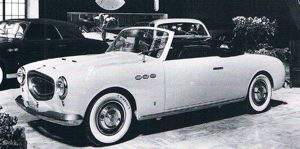 Fiat 1400 Cabriolet, 1951