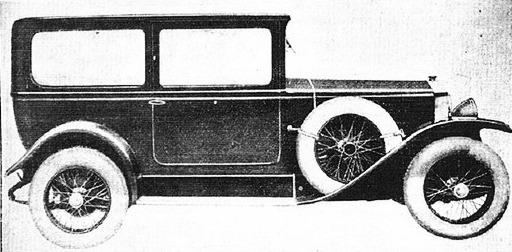 Fiat – 501 Berlina