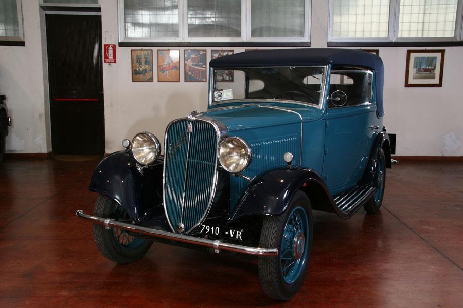 Fiat – 508 Balilla Cabriolet Brianza