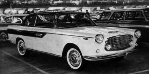 Fiat – 1200 Coupé 2+2 Monterosa