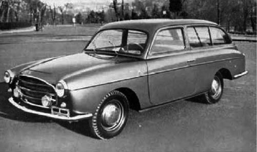Fiat – 1100 Giardinetta Monterosa
