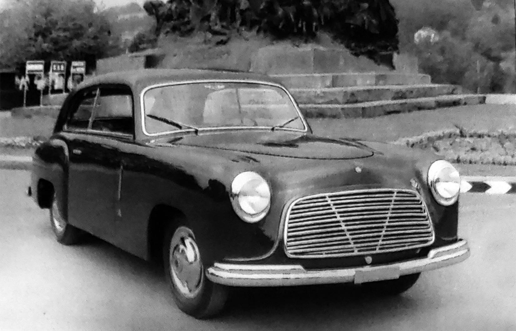 Fiat – 1100 Coupé Monterosa