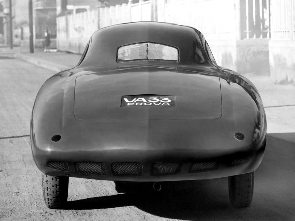 1946 FIAT 1100 COUPE Meteor rear