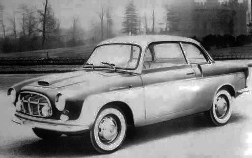 Fiat – 1100 TV Coupé Monterosa