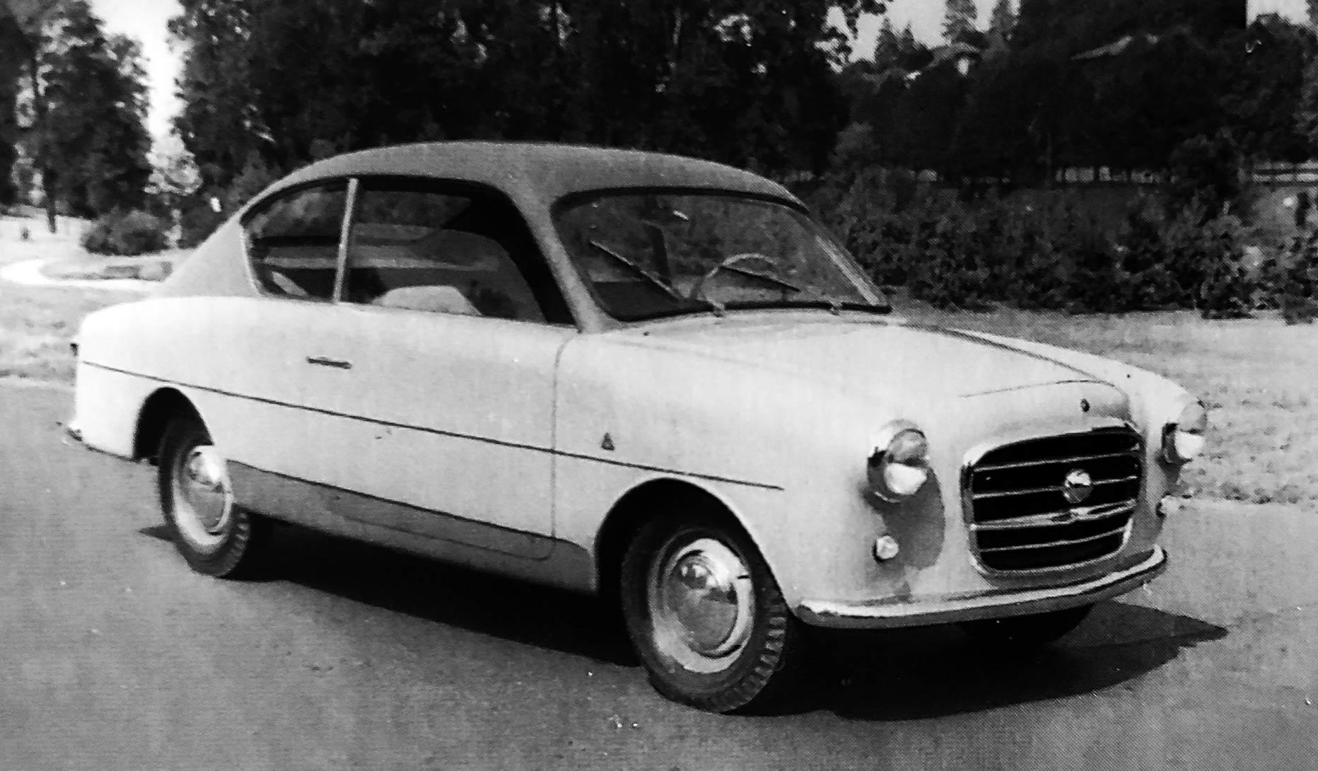 Fiat – 1100/103 Coupé Monterosa