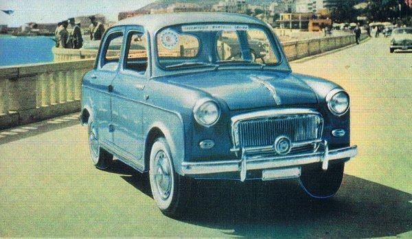 Fiat – 600 Berlina Mantelli