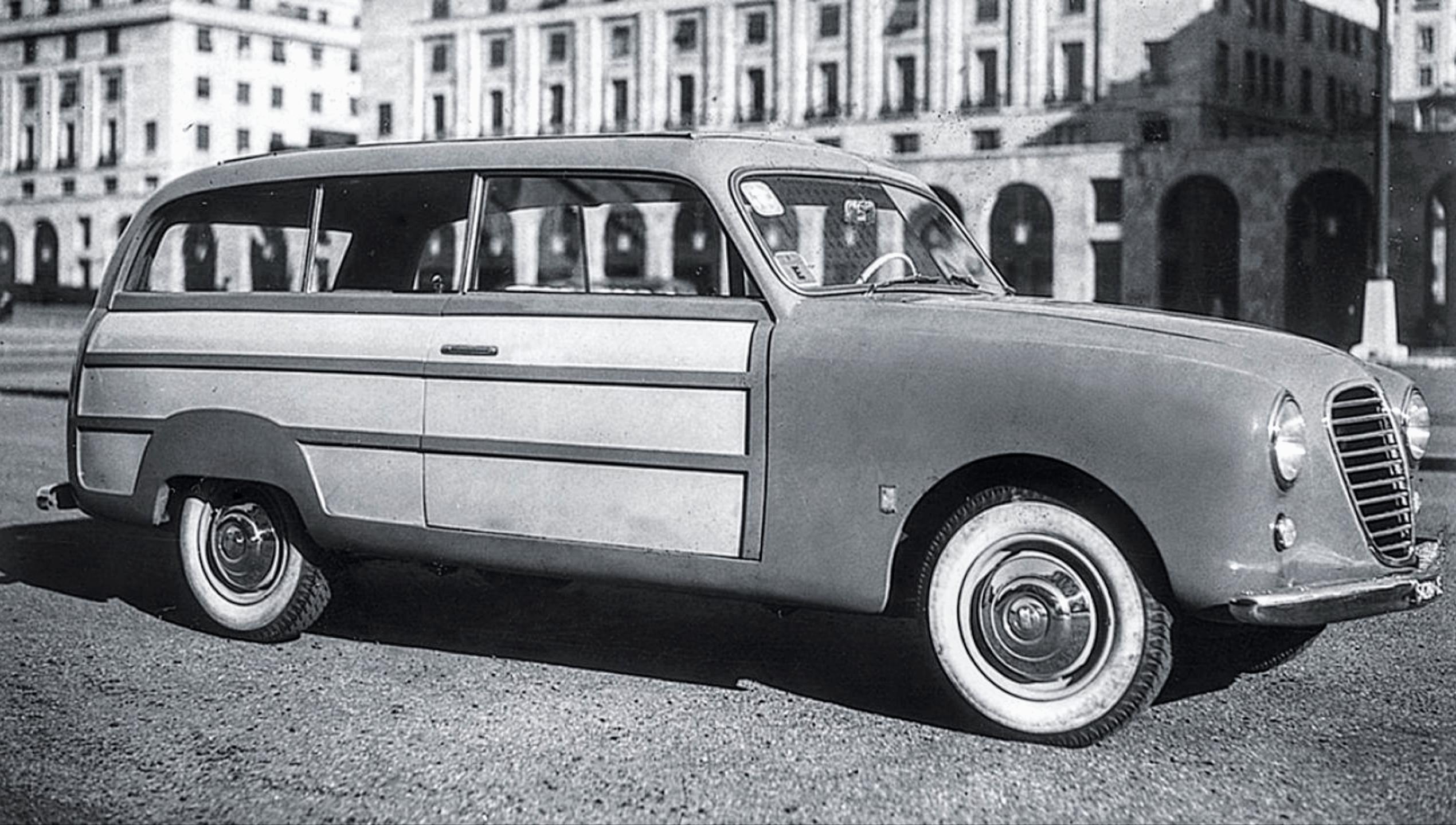 Fiat – 1400 Giardinetta Metallica