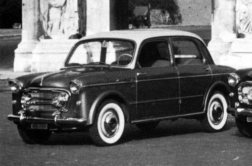 Fiat – 1100/103 Frua