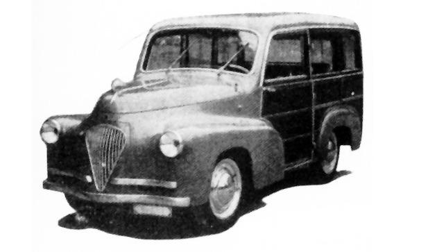 Fiat – 500 Giardinetta Riva