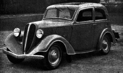 Fiat – Balilla Aerodinamica Casaro