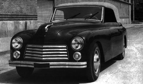Fiat – 1100 Cabriolet Garavini