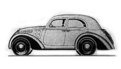 Fiat – 508 Balilla Garavini