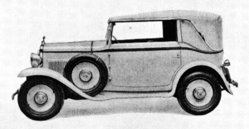Fiat – 508 Balilla Trasformabile Coupé Royale
