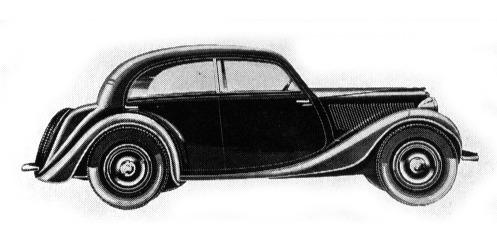 Fiat – 508 Balilla Berlina Aerodinamica