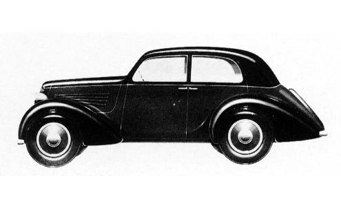 Fiat – Balilla Berlina Aerodinamica