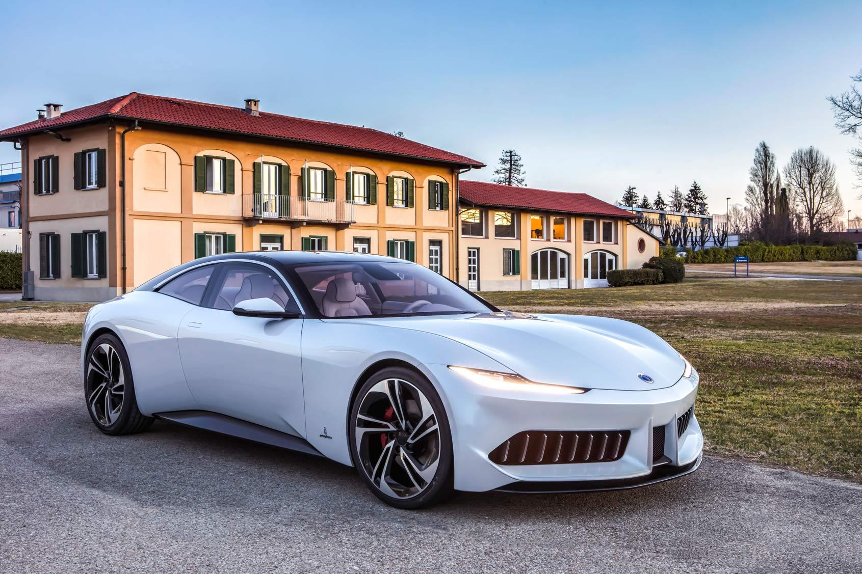 The Pininfarina Karma GT makes its debut at the Monterey Car Week