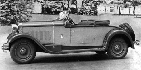 Fiat – 525 Spider Farfalla d'Oro