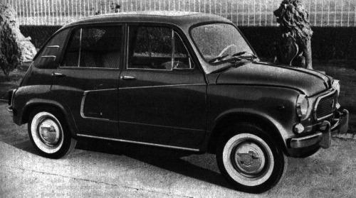 Fiat – 600 D Lucciola