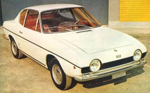Fiat – 850 Coupé Michelotti