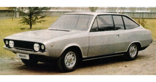 Fiat – 125 S Coupé Michelotti