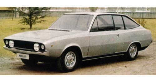 Fiat – 125 S Coupé Michelotti