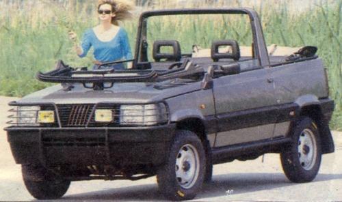 Fiat – Panda 4×4 Cabrio