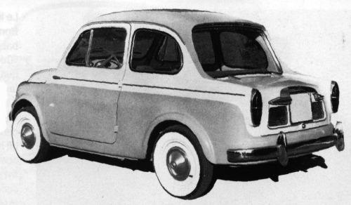 Fiat – 500 Berlina