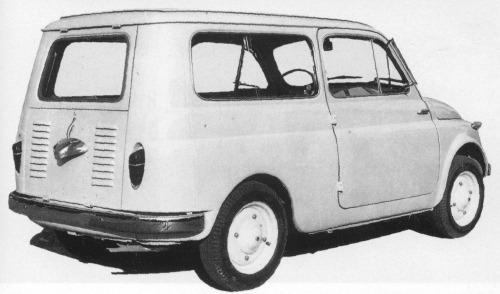 Fiat – 500 Utility
