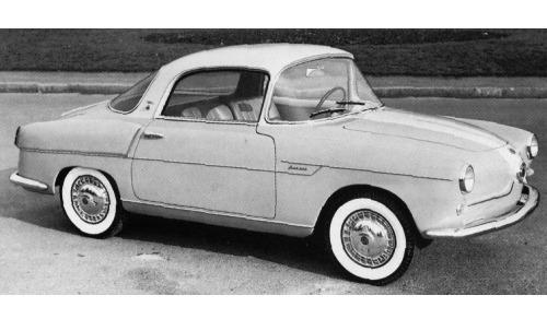 Fiat – 600 Coupé Boano
