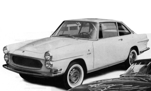 Fiat – 1500 Coupé Francis Lombardi