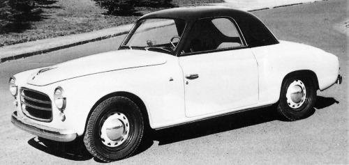 Fiat – 1100 Rondinella Coupé