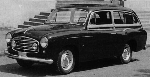 Fiat – 1100 Giardinetta Frua
