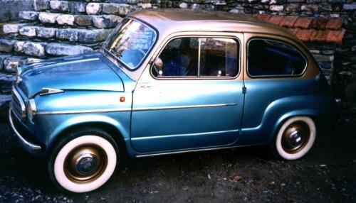 Fiat – 600 Monterosa