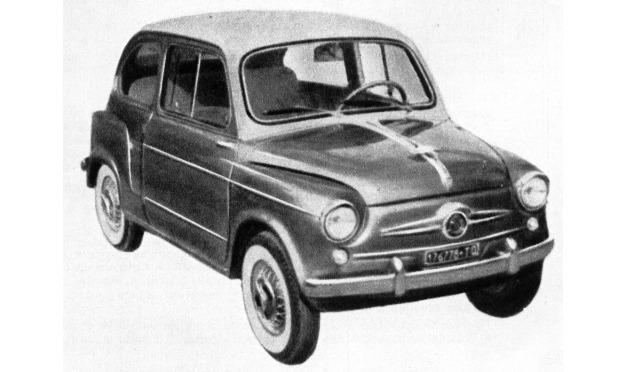 Fiat – 600 Boano