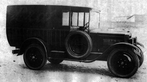 Fiat – 503 Furgone