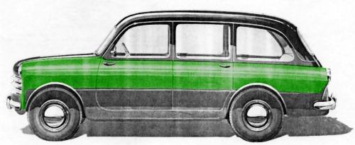 Fiat – 1100/103 Tassì