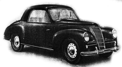Fiat – 1100 Stella Alpina Coupé